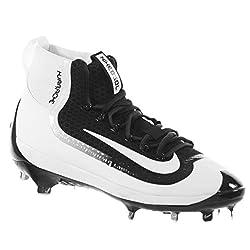 Nike Mens Air Huarache 2kfilth Elite Mid Baseball Cleat Blackwhite Size 10 M Us