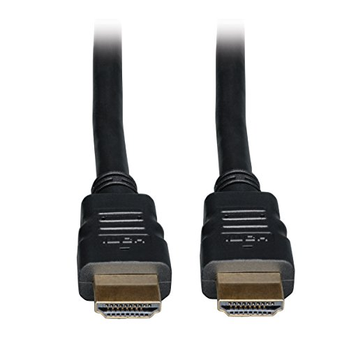 Tripp Lite High Speed HDMI Cable with Ethernet, Digital Video with Audio (M/M), 10-ft. P569-010 HDMI-Kabel, 3.05 m (10-ft.), schwarz, Stück: 1 -