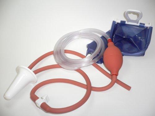 Scheidenspülung, Vaginaldusche komplett Set mit Zu -und Ablaufschlauch