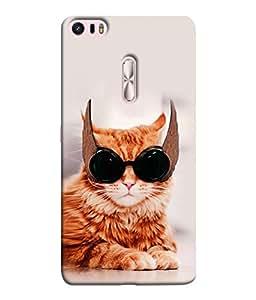 PrintVisa Designer Back Case Cover for Asus Zenfone 3 Ultra ZU680KL (6.8 Inch Phablet) (Cat Owl Sun Glasses Meow)