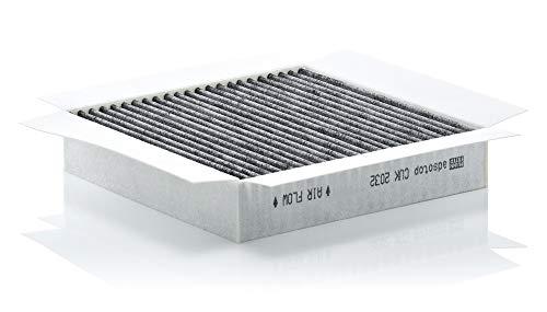 Original MANN-FILTER Innenraumfilter CUK 2032 - Pollenfilter mit Aktivkohle - Für PKW -