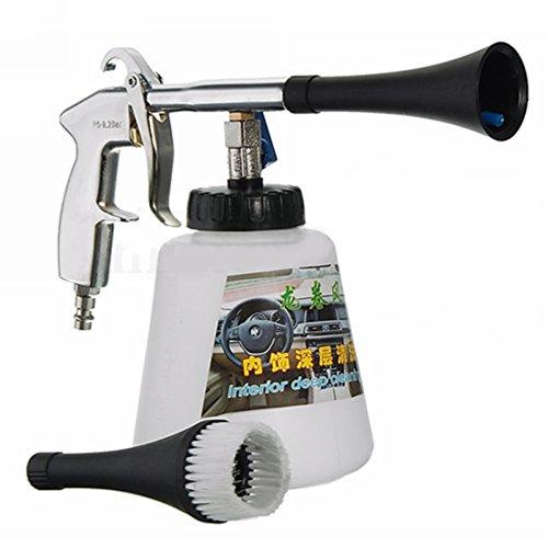 zantec Auto Reinigung Spray, Hohe Druck Air Blow Gun Starke Dekontamination für Auto-Innenraum-Pflege (Schwarz Auto-innenraum-spray-farbe)