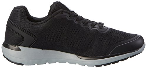 Lotto Sport Cityride Ii Amf, Chaussures Multisport Outdoor Homme Noir (Blk/slv Mt)