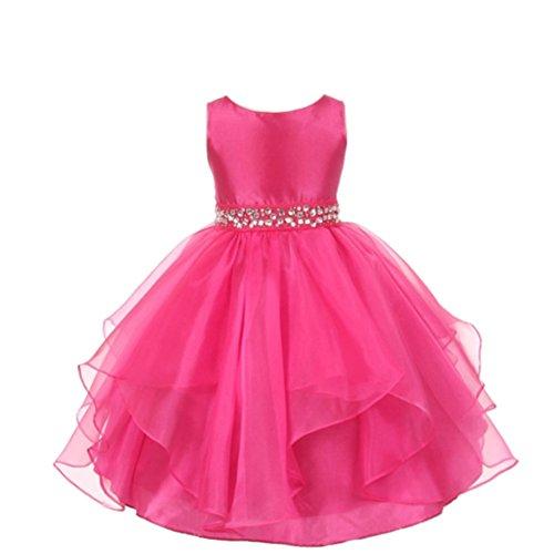 Das beste Ohne Arm Mädchen kleines Brautkleider Hochzeitskleider Prinzessin Abendkleid Tutu Kleid Abendmode