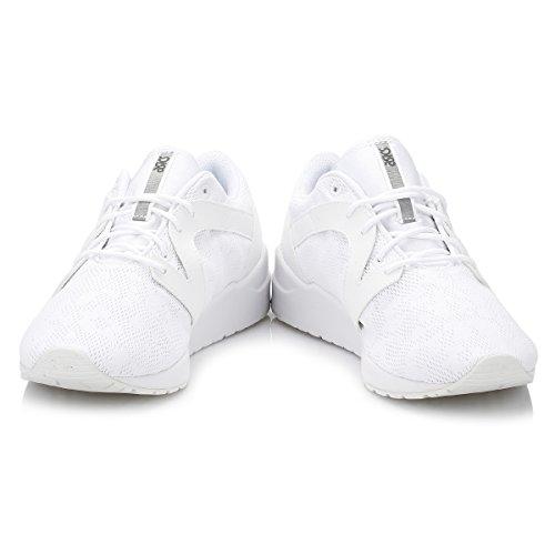 Asics Gel-Lyte Komachi, Sneakers Basses Femme Blanc Cassé (White / White)