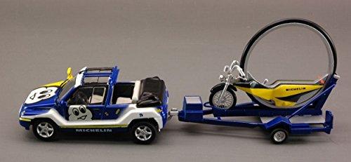 Norev NV80011 Mega LOISIR/Moto Michelin 1:43 MODELLINO Die Cast Model Compatible con