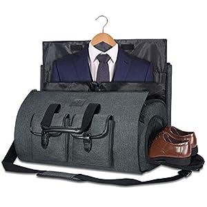 Carry on Kleidersack groß Reisetasche Reisetasche Wochenendtasche Flugtasche mit Schuhbeutel für Männer und Frauen