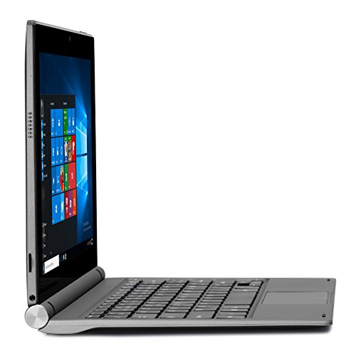 HKC T11JC UK 2in1 Convertible Laptop tablet 116 IPS comprehensive HD 1920x1080 Touchscreen Intel Z8350 2GB RAM 32GB eMMC Micro SDXC Card Reader USB Micro HDMI Wi Fi Bluetooth Windows 10 Metal Grey UK Keyboard Notebooks