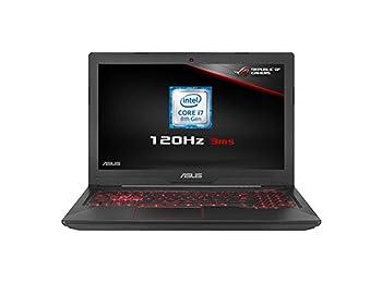 ASUS FX504GM-EN150T 15.6 Inch 120 Hz Full HD Wide-View Laptop (Metal) - (Intel Core i7-8750H, 8 GB RAM, 1 TB HDD + 256 GB SSD, Nvidia GTX1060 6 GB Graphics, Windows 10)