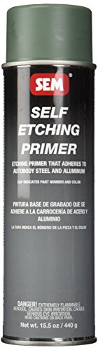 Self Etching Primer Aerosol ('Sem 39693grün selbst Ätzen Primer–15,5oz)