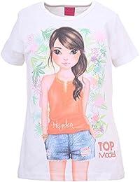 Filles Top Model Shirt, blanc