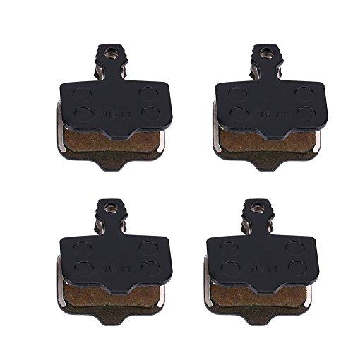VGEBY 8pcs Pastiglie dei Freni a Disco con Molle, Pastiglie dei Freni Semi-resina per Avid Elixir R/CR/CR-MAG/X0 XX DB