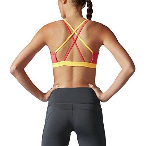 Adidas Veste de sport à dos croisé Soutien-gorge de sport Core Pink/Black