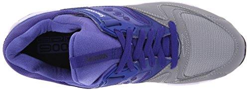 Saucony - Grid 9000, Scarpe da ginnastica Unisex – Adulto Grey/Blue