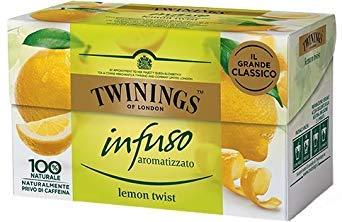 Twinings - Aromatisierte Aufgüsse - Special Edition (Zitrone Twist, 40 Taschen) -