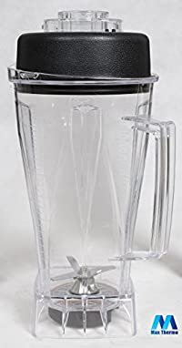 Replacement Container and Lid for Vita-Mix 64 Ounce Blender 748