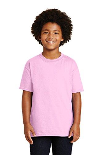 Gildan - 2000B Ultra Cotton Jugend T-Shirt, X-Large, Light Pink (Pink-jugend-mädchen T-shirt)