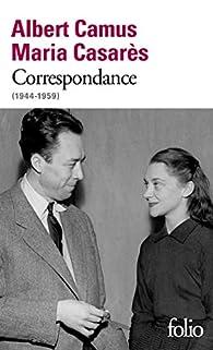 Correspondance par Albert Camus