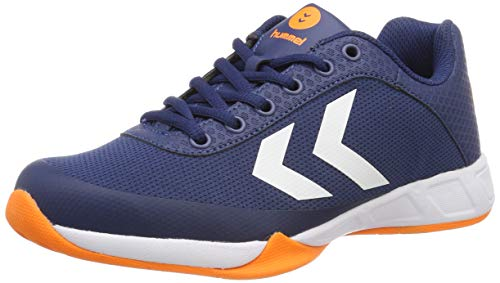 Hummel Unisex-Erwachsene Root Play Trophy Multisport Indoor Schuhe, Blau (Poseidon 8616), 40 EU