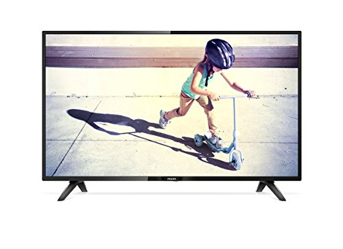 Philips 32PHT4112/05 32-Inch HD Ready LED TV with Freeview HD - Black (2017 Model)