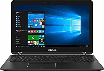 "Asus Newest Q524UQ 2-in-1 Convertible 15.6"" Full HD Touchscreen Backlit Keyboard Flagship Laptop PC (43311-12098, Black)"