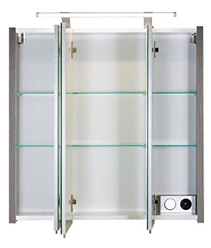 Schildmeyer Spiegelschrank esche grau - 2