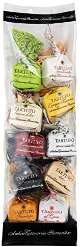 Schokoladen Trüffel - Antica Torroneria Tartufo. Trüffel dolce tartufi, Trüffel Pralines gemischt 20 Stück mind. 280 g