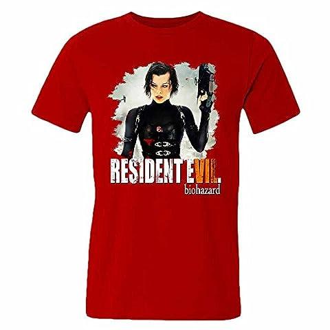 T-Shirt Men Inspired by Resident Evil Shirts M