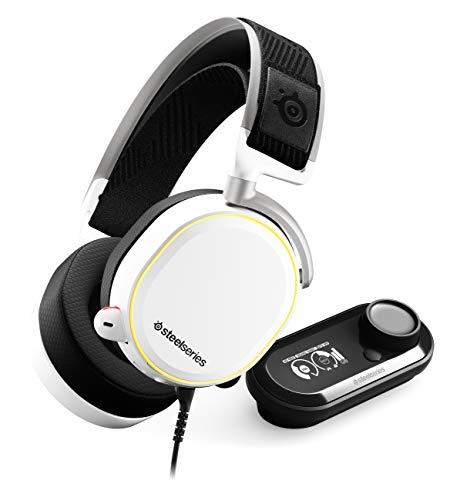 Keyboard Arctis Pro Wired 40mm Stereo Headset (Over-the-head) ohrumschließend Schwarz Weiß 32 Ohm 10 Hz 40 kHz Mini-Phone USB -