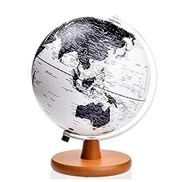 20 centimetri europei europei puri globo luminoso in legno base HD globo LED luce del globo decorazi
