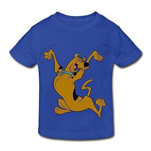 4 Monate) T-Shirt Blau Königsblau ()