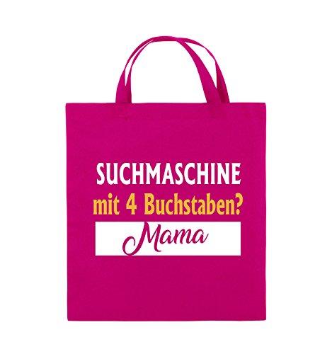 Pink Farbe mit Henkel Weiss Weiss Jutebeutel Suchmaschine Bags Schwarz kurze Buchstaben 4 Neongrün Comedy Gelb 38x42cm Mama Evqn6n8