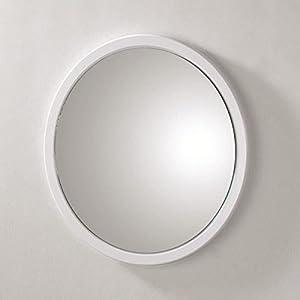 spiegel wei rund deine. Black Bedroom Furniture Sets. Home Design Ideas