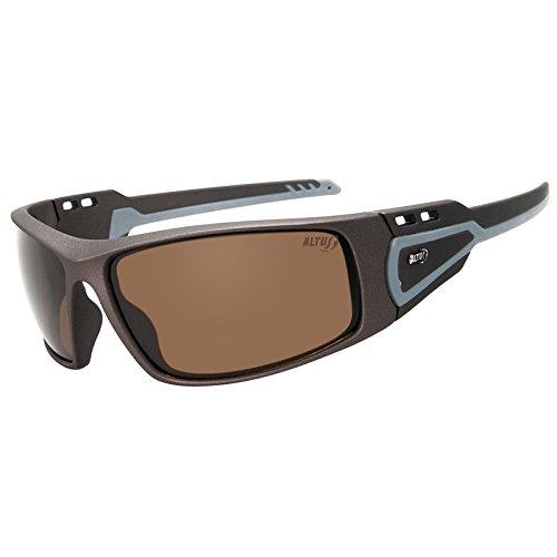 Altus 50602 vo-occhiali da sole da uomo, taglia unica, colore: nero