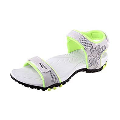 Lancer Earth-4 Grey Parrot Green Men Casual Sandals 11 UK