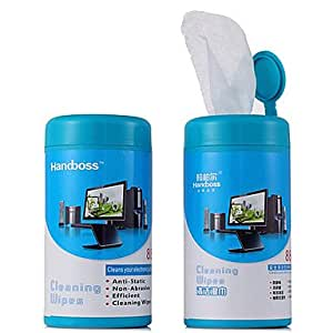 "Handboss cleaning wet paper for digital camera/5 ""(88 pCS)"