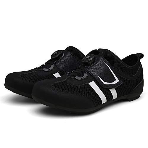 Sneaker da Mountain Bike, Fibbie rotanti Antiscivolo Scarpe da Ciclismo, Scarpe da Trekking Casual Traspiranti Leggere da Uomo e da Donna, Ideali per Gli Sport all'Aria Aperta in Sella a ZDDAB