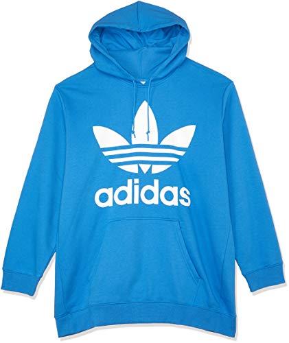 adidas Damen BF Trefoil Hoodie, Blau (Super Blue), 38 - Hoodie Frauen Blau