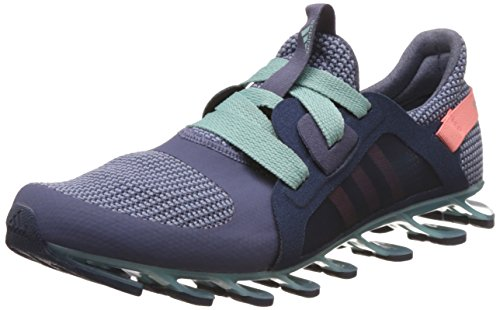 adidas Women's Springblade Nanaya Green, Yellow and Blue Running Shoes - 7 UK  available at amazon for Rs.9999