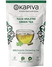 Kapiva Tulsi Mulethi Green Tea 36 bags 72gm