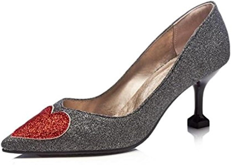 Frauen & Schuhe Pailletten Spitz Party & Frauen Abend Stiletto Pumps Größe 36To44 0f955b