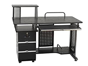 Office Desk Work Station Computer table AB D-03 Black