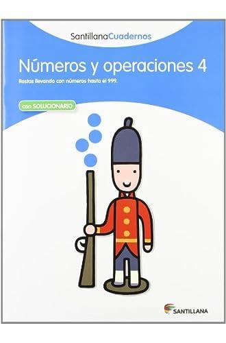 Descargar gratis NUMEROS Y OPERACIONES 4 SANTILLANA CUADERNOS – 9788468012308 de Varios Autores