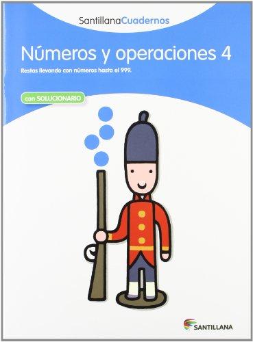 NUMEROS Y OPERACIONES 4 SANTILLANA CUADERNOS - 9788468012308