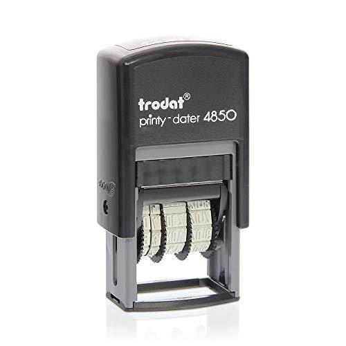Datumstempel Trodat Printy 4850 custom (25x5 mm - 1 Zeile) mit individueller Textplatte