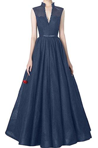 Missdressy - Robe - Femme Bleu Marine