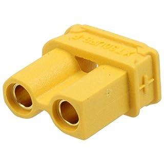 2x XT30UPB-F Socket DC supply XT30 female on PCBs THT Plating gold flash AMASS