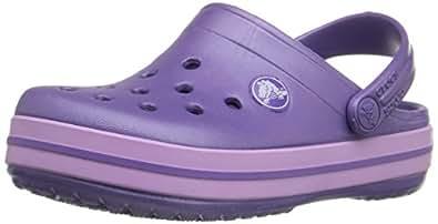 Crocs Crocband 10998 Unisex - Kinder Clogs & Pantoletten, Blau (blau violet/iris), 19/21 EU