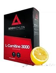 BodyAthlon - L-Carnitina 3000 Quemagrasas Sabor Limón - 20 Viales x 10 ml