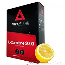Bodyathlon - L-Carnitine 3000 Lemon Flavour 20 Vials x 10 ml